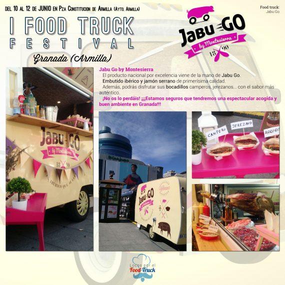 Jabu Go en I Food Truck Festival de Granada